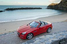 Mercedes-Benz SLK [Fuel consumption combined: km) Mercedes Benz Slk 350, Mercedes Benz Models, New Mercedes, Convertible, Orange Interior, Rally Car, Hot Cars, Dream Cars, Classic Cars