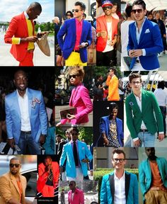 Color Blazers For Men