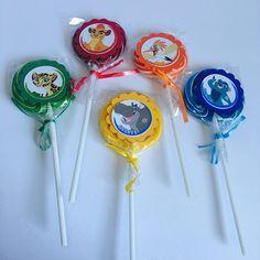Lion Guard Lollipops Paletas De Dulce~ Dessert Table Decoration ~birthday Party Favors~ Set Of 12 Ct