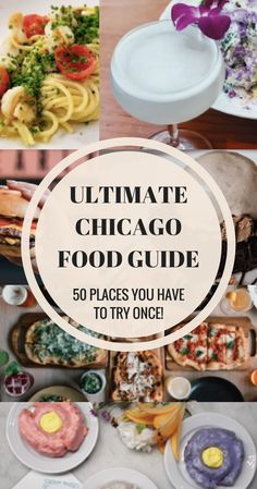 The Ultimate Chicago food guide is here! Find everything from sweet treats, brunch spots, dinner recommendations, and more. Chicago Restaurants Best, Places In Chicago, Chicago Tours, Chicago Travel, Best Pizza Chicago, Food In Chicago, Chicago Trip, Chicago City, Usa Travel