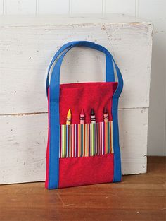 How adorable is this Artist Tote on the Notions blog? One of many great Gifty Galore projects you can find now at Connecting Threads