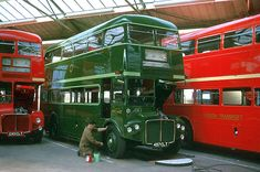 AEC WORKS JULY 1962 RMC 1457 Rt Bus, 4x4, Big Red Bus, Routemaster, Double Decker Bus, London History, Bus Coach, London Bus, London Transport
