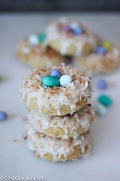 Easter Brunch Coconut Donuts