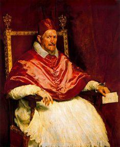 Velázquez. 'Inocencio X'. Oleo sobre lienzo, 1650.  Troppo Vero !!!