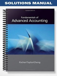Textbook solutions manual for auditing assurance services a solutions manual for fundamentals of advanced accounting 1st edition by fischer fandeluxe Gallery