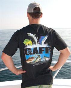 gaff life shirts | Mens short sleeve GAFF T-shirt (Black) - GAFF Life Store