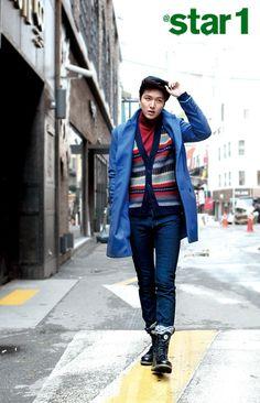 Lee Min-Ho (이민호), the older, had a fashion shoot and interview with fashion magazine 'At Style' ('At Korean Men, Korean Actors, Lee Min Ho Kdrama, Il Woo, Lee Min Ho Photos, Kim Bum, Lee Seung Gi, Girls Life, Minho
