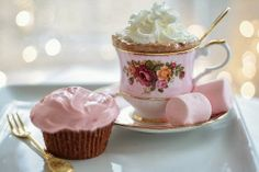 Cocoa and Pink Marshmallows