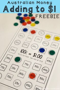 Check out this fun, hands on and engaging FREEBIE to teach your students about addition and subtract Money Activities, Teaching Activities, Hands On Activities, Teaching Math, Teaching Ideas, Numeracy Activities, Learning Resources, Teaching Numbers, Primary Teaching