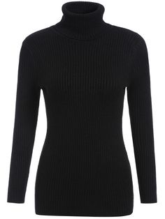 Shop Black High Neck Long Sleeve Slim Knitwear online. SheIn offers Black High Neck Long Sleeve Slim Knitwear & more to fit your fashionable needs.
