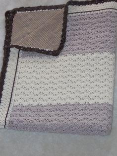 Κουβέρτα για το λίκνο και το καρότσι.. με νήμα merino baby
