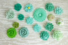 Hey, I found this really awesome Etsy listing at https://www.etsy.com/listing/246706444/mixed-green-flower-fridge-magnet-strong