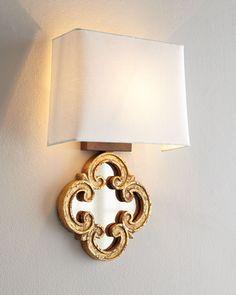"""Regina-Andrew Design """"Motif Mirror"""" Sconce - Horchow"""