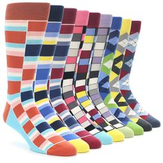 Statement Sockwear: The third collection. Looking to enhance your style and make… Crazy Socks, My Socks, Happy Socks, Cool Socks, Underwear, Le Male, Vogue, Colorful Socks, Dress Socks