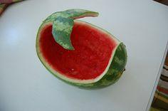 So stinkin CUTE. Whale fruit bowl.