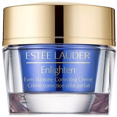 Estee Lauder Enlighten Even Skintone Correcting Creme/1.7 oz. ($57) ❤ liked on Polyvore featuring beauty products, skincare, face care, face moisturizers, estee lauder face moisturizer, estée lauder and face moisturizer