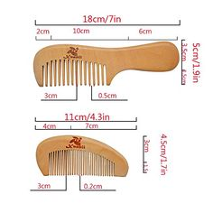 Top 10 Wood Hair Combs of 2020 Small Woodworking Projects, Wood Projects, Barber Shop Interior, Wood Comb, Wooden Keychain, Wood Carving Patterns, Hair Combs, Wooden Spoons, Wooden Crafts