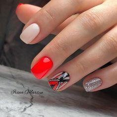 Beauty Nails, Hair Beauty, Red Nail Art, Winter Nails, All Fashion, Nail Care, Fun Nails, You Nailed It, Hair And Nails