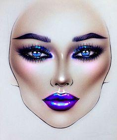 natural makeup looks Organic Makeup, Natural Makeup, Natural Beauty, Mac Makeup, Beauty Makeup, Drugstore Beauty, Makeup Inspo, Makeup Inspiration, Mac Face Charts