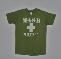 1981 M.A.S.H. T Shirt soft paper thin XS/S by JaybrrdsWhatnots