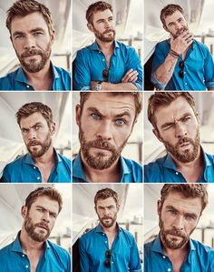"""diana-prince: """"Chris Hemsworth photographed by Jason Ierace for Foxtel """""""
