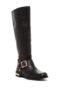 Vince Camuto   Vince Camuto Kallie Tall Leather Boot   Nordstrom Rack