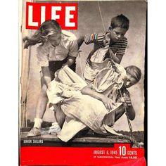 Life Magazine, August 6 1945   $8.04