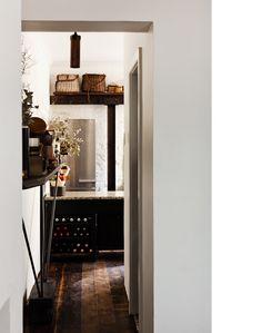 Baskets and wine storage