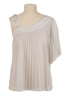 This blouse is at Maurices store here in Slidell, or you can order online at maurices.com