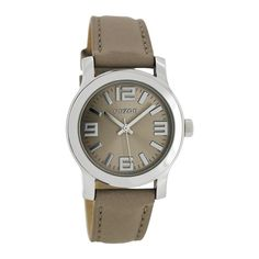 OOZOO Timepieces horloge Taupe C7127
