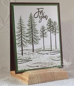 Stampin' Up! Thoughful Branches. Debbie Henderson, Debbie's Designs
