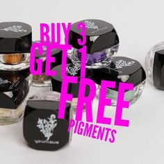 Younique Pigments: ❄️ Buy 3 Get 1 FREE