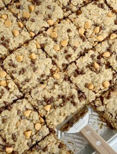 Chewy Butterscotch Peanut Butter Cookie Bars - Print Chocolate Chip Oatmeal, Mini Chocolate Chips, Chocolate Chip Cookies, Hot Chocolate, Natural Peanut Butter, Creamy Peanut Butter, Butter Pecan, Peanut Butter Cookie Bars, Butterscotch Cookies