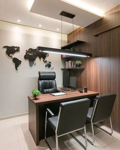 Work From Home Office Layout Ideas Office Cabin Design, Small Office Design, Office Interior Design, Office Interiors, Law Office Decor, Home Office Layouts, Bureau Design, Small Office Furniture, Modern Furniture