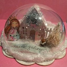 Christmas Dome Ornament created by Bona Rivera-Tran.