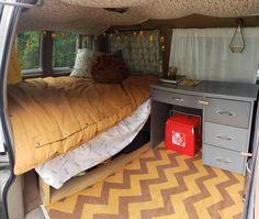 Chevy Astro Van, Chevy Van, Van Conversion Layout, Camper Conversion, Tiny House Layout, Tiny House Cabin, Build A Camper Van, Minivan Camping, Bus Living