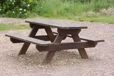 do-it-yourself picnic table