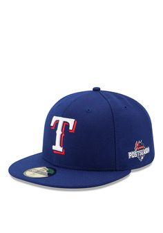 New Era Texas Rangers Royal 2015 Postseason 5950 Fitted Hat http://www.rallyhouse.com/new-era-texas-rangers-mens-royal-2015-postseason-5950-fitted-hat-5902260?utm_source=pinterest&utm_medium=social&utm_campaign=Pinterest-TexasRangers $37.99