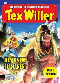 Tex Willer fargebok serie. Narvesen 100,-