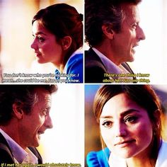 """""""I would absolutely know it's her."""" -  Doctor Who season 9 finale"""