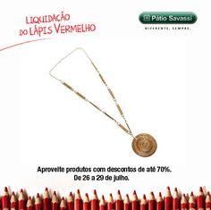 Colar de 75,00 por R$70,00 na Capim Dourado do @meupatiosavassi. #LLV