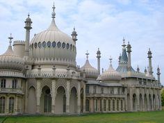 Pabellon Real de Brighton, obra del arquitecto John Nash
