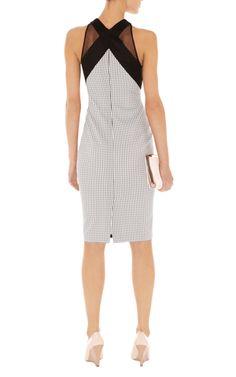 Dresses | Multi Dot floral print dress | KarenMillen Stores Limited