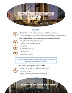 Real Estate Investors in Dubai