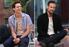 Shane West (2002 and 2016) - Snap Stills/Rex Shutterstock; David Livingston/Getty Images