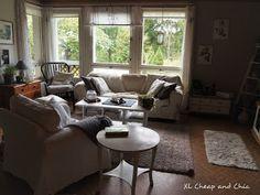 XL Cheap & Chic: Talossa tapahtuu, olohuoneen muutos - Inside the h. Living Room, Chic, House, Shabby Chic, Elegant, Home, Home Living Room, Drawing Room, Lounge