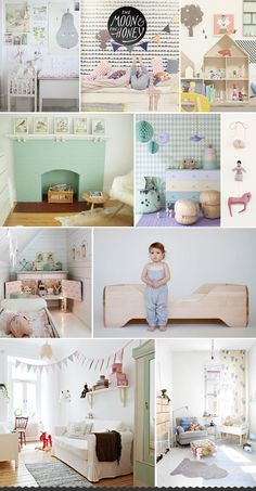 Pretty Pretty Pastels in the Kids Room | The Moon & The Honey