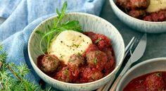 Viltköttbullar med tomatsås