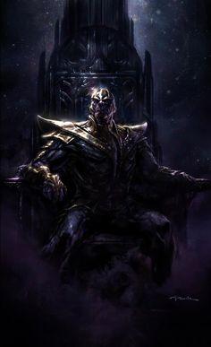 Thanos - The Avengers Concept Art