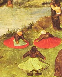 Gry dla dzieci (fragment): Bruegel Pieter Starszy: Sztuka Zdjęcia: Imagiva